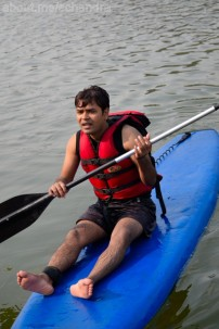 Oye. I can't paddle.