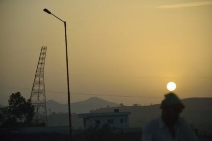 Sun at dawn