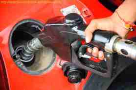 Fuelling a Red car